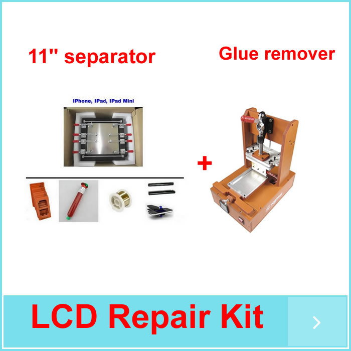 LCD separator 950 for Ipad, Iphone, Ipad mini 11 inch screen refurbishment+ UV glue+moulds+glue remover machine