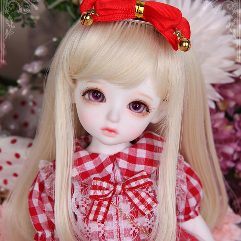 1/6 BJD Doll BJD/SD Honey Delf Hanaels Cute Doll With Glass Eyes For Baby Girl Birthday Gift Present kid delf girl bory bjd doll 1 4 luts baby girl sd doll free eyes