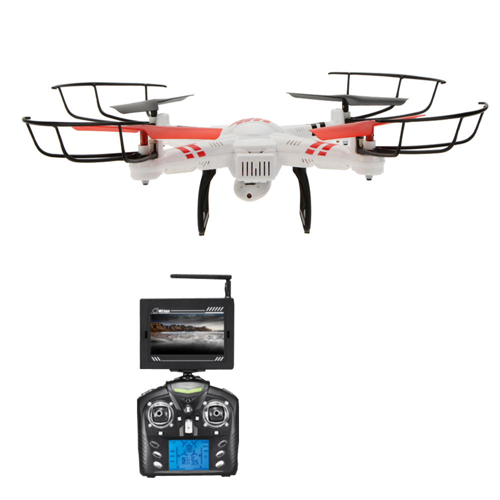 Wltoys V686G 2.4G 4CH Real Time Transmission FPV Drone UFO Quadcopter With 2MP HD Camera Headless Mode wltoys v686 v686g fpv version 4ch professional drones quadcopter with hd camera rtf 2 4ghz real time transmission cf mode jjrc