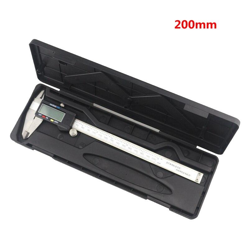 Digital Caliper 200mm 8 inch Electronic Stainless Steel Vernier 0.01mm Ruller Measuring Gauge Micrometer Diagnostic-tool