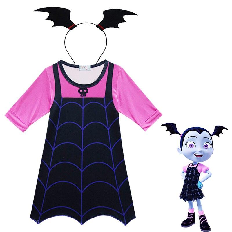 Vampire Cosplay Costumes Girls Vampire Dresses For Girls Halloween Cosplay Costume  Vampire Hairpin For Girls Gift Vampire suit