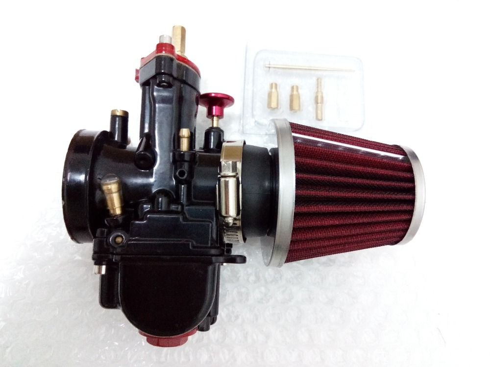 ФОТО GY6 125cc group, 200cc scooters of 150cc180cc super high performance 32 mm PWK carburetor / air filter / 6-color tubing