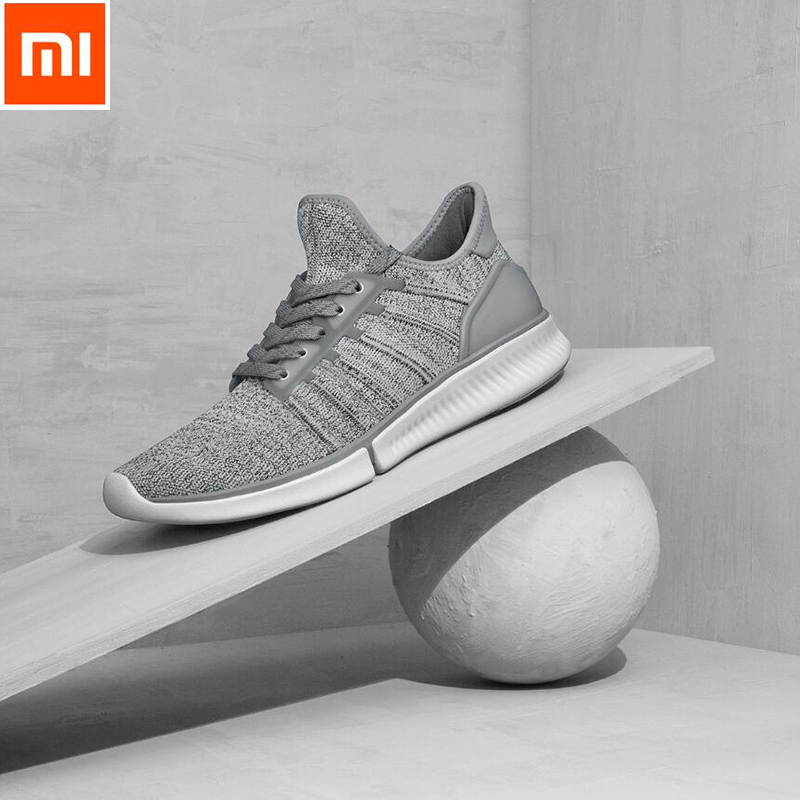 Original Xiaomi Mijia Smart Chip Shoes Fashionable Design Replaceable Waterproof IP67 Phone APP Control Sport Running