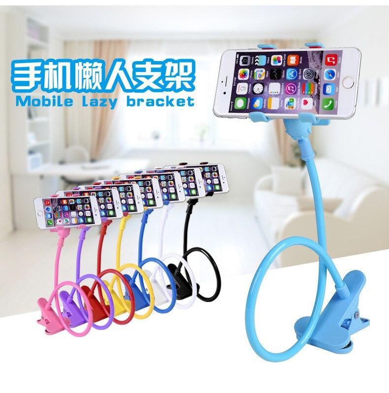 Universal largo brazo móvil del sostenedor del soporte flexible plegable desk so