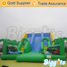 Inflatable Biggors Portable PVC Inflatable Giant Slide For Kids And Adults