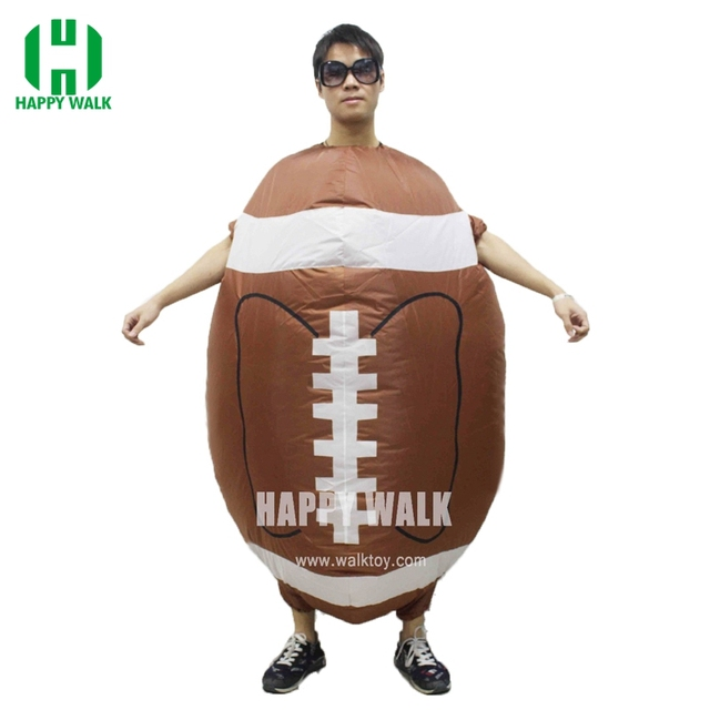 2a30e83281f8 New Sale! Rugby Inflatable Costume Halloween Christmas Party Funny ...