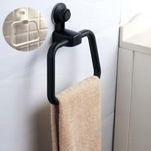ISHOWTIENDA полотенце кольцо для ванной комнаты держатель для полотенец вешалка стойка для полотенец Ванная комната настенное крепление горячая распродажа