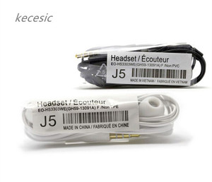 Image 2 - 10 teile/los kecesic AAAA J5 Headsets In Ear Ohrhörer Kopfhörer Hände freies mit Mic Für Samsung HTC Xiaomi Handys