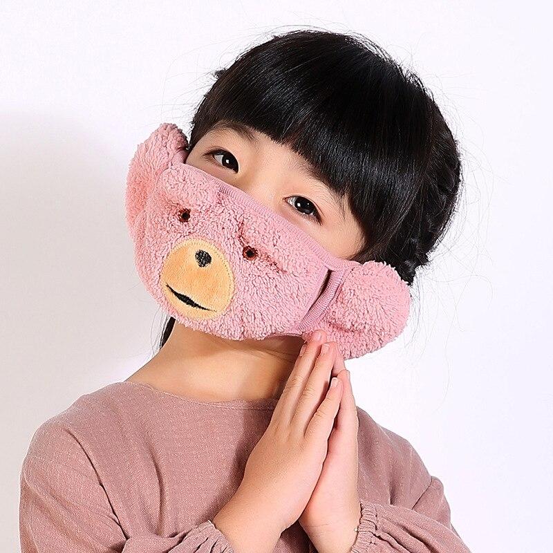 Masken Motiviert 5 Teile/paket Winter Training Masken Reiten Atmungsaktive Masche Anime Maske Weibliche Masker Kinder Maskeler In Ohr Mund Maske Hoher Standard In QualitäT Und Hygiene