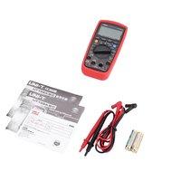 Digital Multimeter UNIT DC/AC Voltage Current Meter Handheld Ammeter Ohm Diode NCV Tester 1999 Counts Multitester No Contact