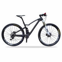 CRATIC Latest Boost Bikes Carbon 650B Plus Full Suspension Bicycle 27 5 Carbon Bike