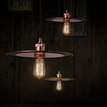 В нордическом оригинальном стиле светодиодная круглая промышленная лампа модный дизайн ресторан бар кофейня горячий горшок магазин кулон ...