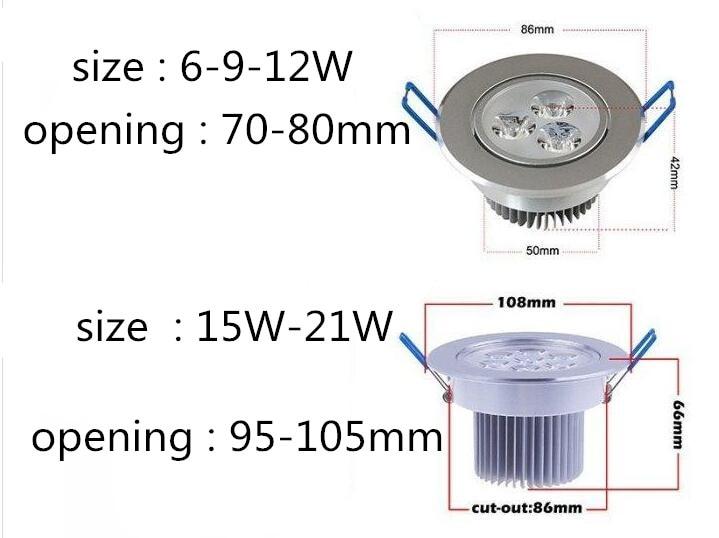 Downlights 110 v-220 v Interruptor : Interruptor