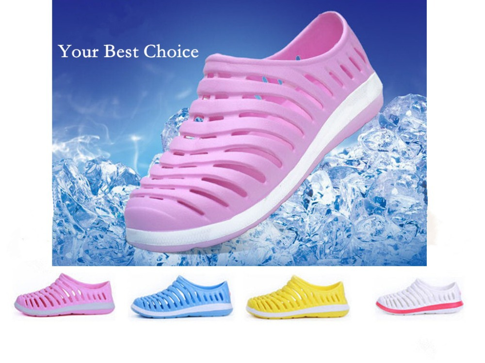 f1d91a8e0 2015 Fashion women shoes summer casual rainy shoe EVA beach shoe slippers  hole sandals-in Women's Sandals from Shoes on Aliexpress.com | Alibaba Group