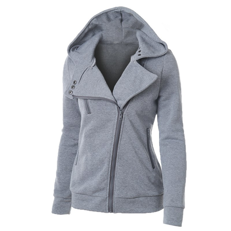 12 Colors Autumn Women Zipper   Basic     Jackets   Solid Casual Outerwear Ladies   Jackets   Coat Cardigan Warm Plus Size   Jacket