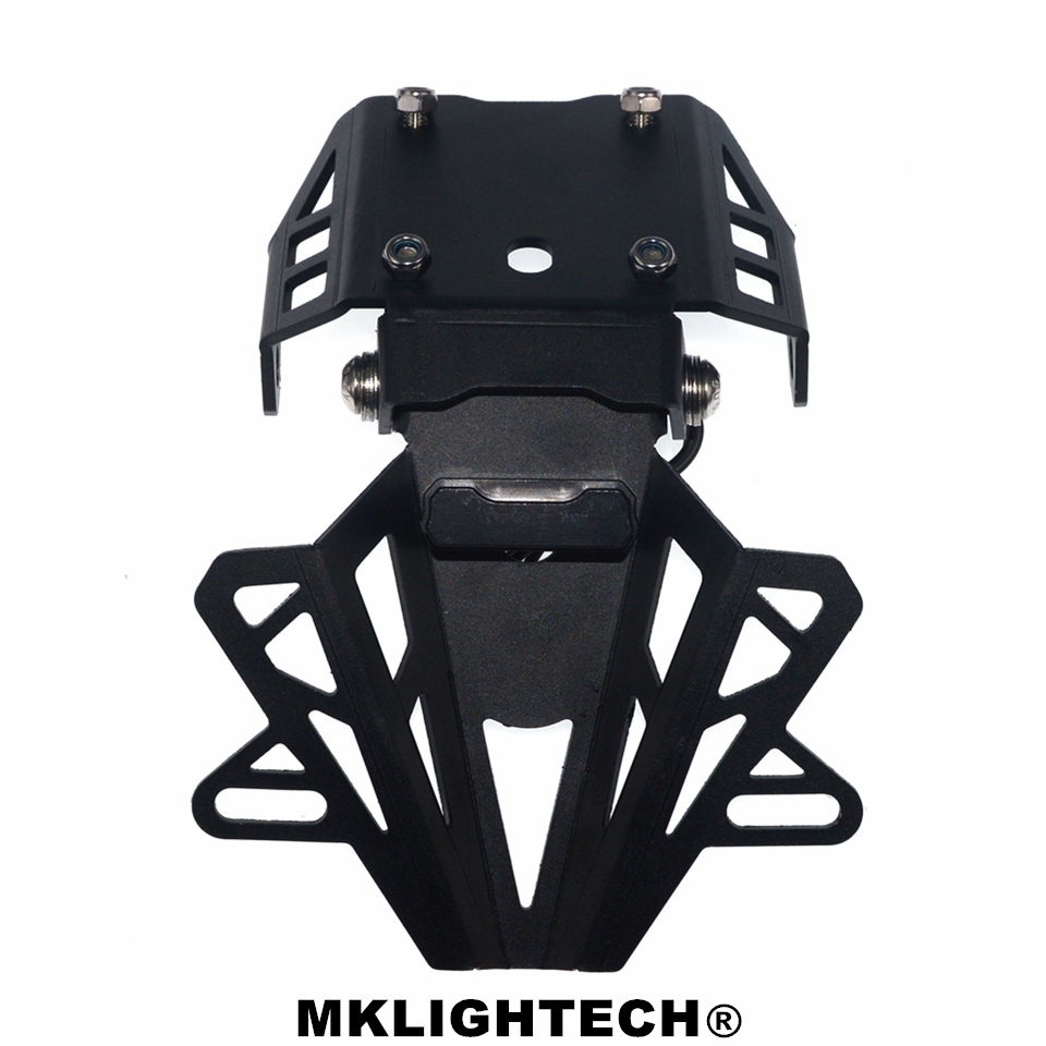 MKLIGHTECH For KTM DUKE390 DUKE 390 2014-2017 Motorcycle Rear License Plate Tailstock Bracket Modification