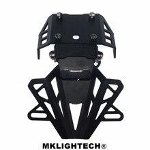 MKLIGHTECH For KTM DUKE390 DUKE 390 2014-2017 Motorcycle Rear License Plate Tailstock Bracket Modification