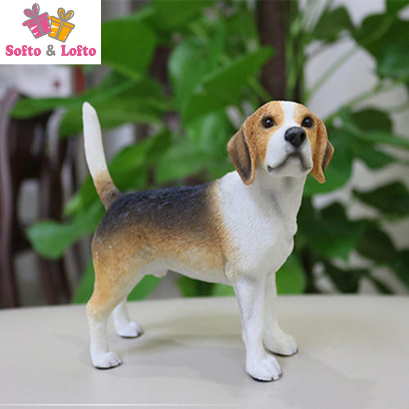 NEW Beagle hunter dog figure,car styling home room decoration,quality doggy puppy article Christmas birthday gift toy collection high quality resin bichon frise dog figure car styling home room decoration love poodle decorative article christmas gift toy