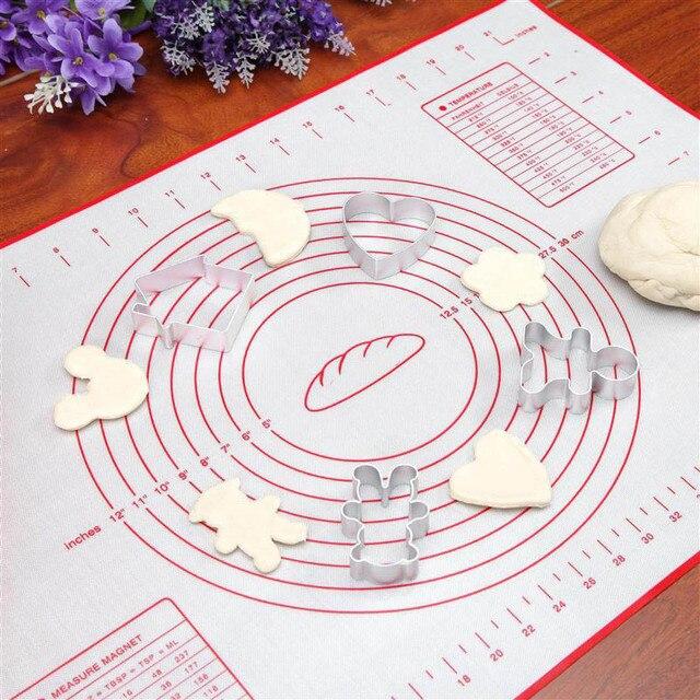 Hoomall Antiaderente Da Forno In Silicone Zerbino di Rotolamento Pasta Pasticceria Torte Attrezzature e Accessori da forno Fodera Resistenza Al Calore Zerbino Pasta di Farina Da Tavolo Pad