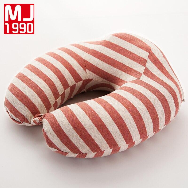 U Shaped Slow Rebound Memory Foam Bamboo Charcoal Pillow