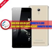 Original VKworld F1 Teléfono Celular IPS 4.5 Pulgadas MTK6580 Quad A Core 1 GB RAM 8 GB ROM 5MP 3G WCDMA Android 5.1 Smartphone