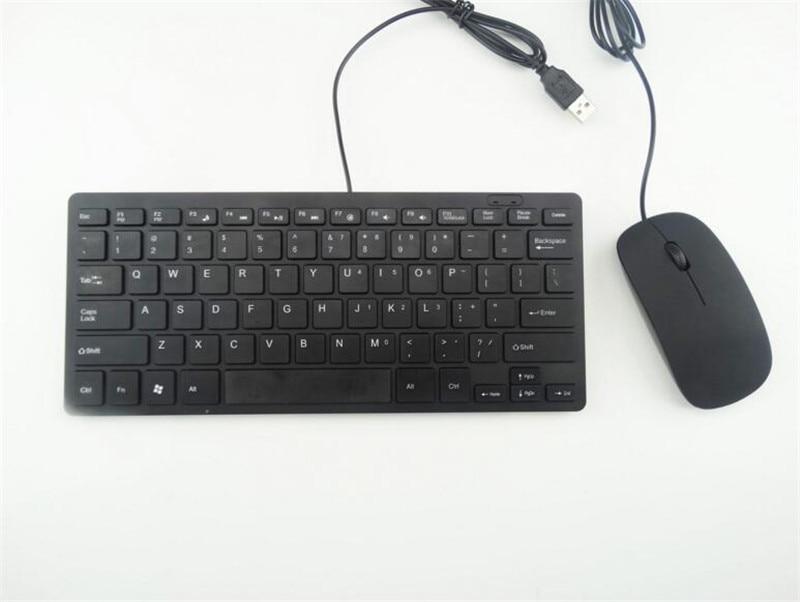 Оригинальный cantanse Проводная клавиатура и мышь комбинированные комплект цвета черный/серебристый высокого качества нейтральный Настраива...