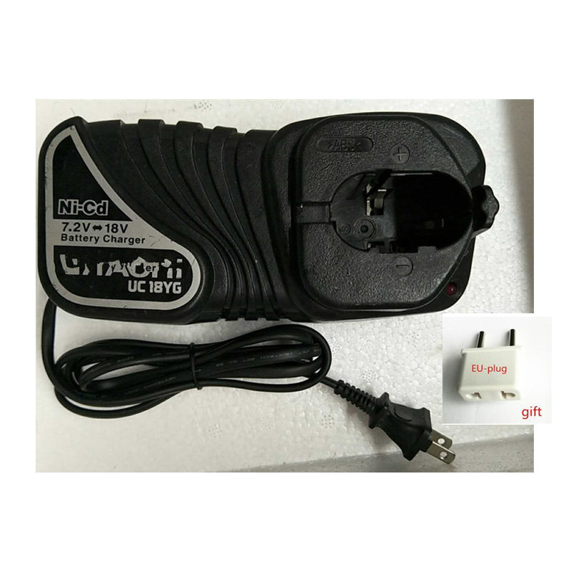 220 240V Charger USED UC18YG for HITACHI 7 2 18V EB914S FEB12S EB1214L EB1214S EB12B EB1414S