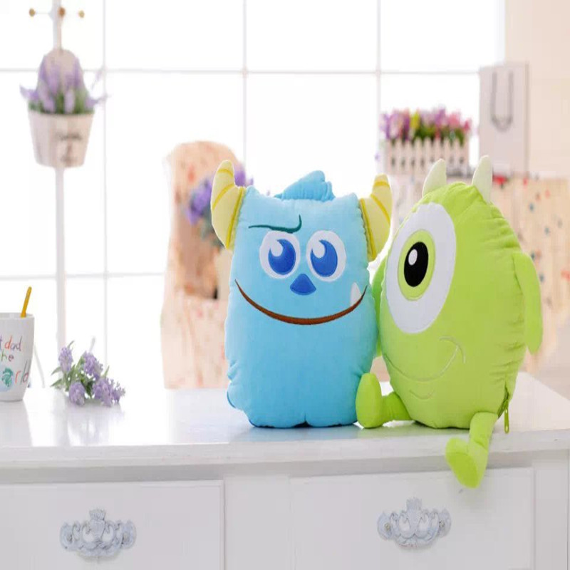 Cute Cartoon Monster University Sullivan Popeyes Air Conditioning Blanket in summer gifts for friends