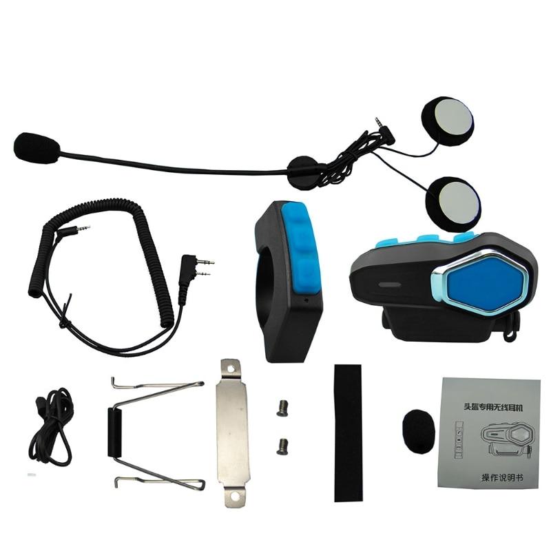LR-3 Bluetooth Motorcyle Motorbike Helmet Interphone Intercom Headset System New