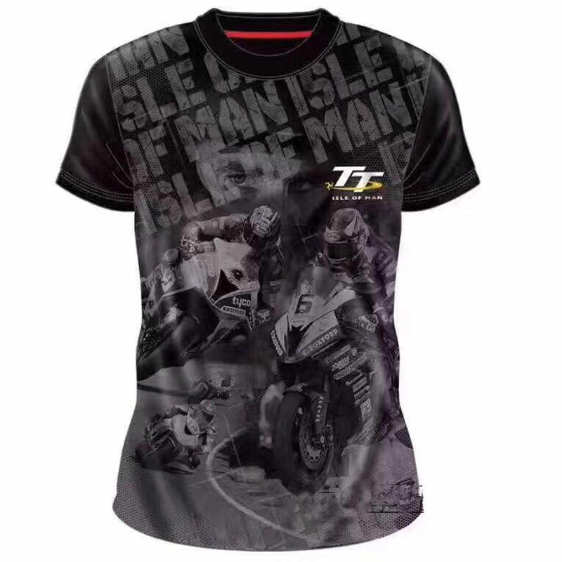 Nieuwe TT Race Isle Van Mens Jeugd Zwart/fluo Element T-shirts Racewear Shocker Dirt Bike Jerseys Tt mx Atv Motocross Tee Shirts U
