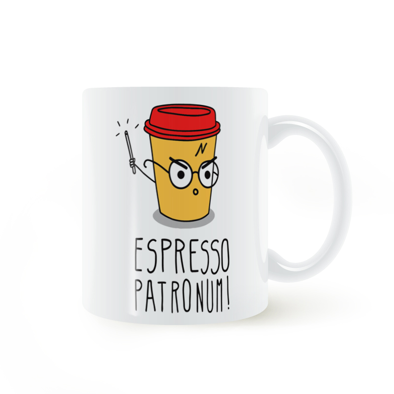 Espresso patronum Magic Mug Coffee Milk Ceramic Cup Creative DIY Gifts Home Decor Mugs 11oz T1412