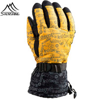 Saenshing New Arrival Ski Gloves Men Waterproof Gloves Snowboard Glove Winter Windstopper Thermal Skiing Snowboarding Glove