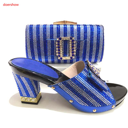 doershow blue Shoes and Bag To Match Italian Matching Shoe and Bag Set African Wedding Shoes and Bag To Match for Party SA1-11doershow blue Shoes and Bag To Match Italian Matching Shoe and Bag Set African Wedding Shoes and Bag To Match for Party SA1-11