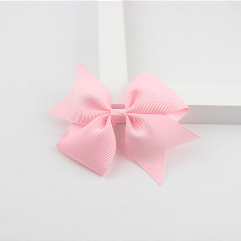 Новые модные маленькие заколки для волос для маленьких девочек, милые заколки для волос карамельного цвета с цветком, детские заколки, аксессуары для волос - Цвет: a20 Pink