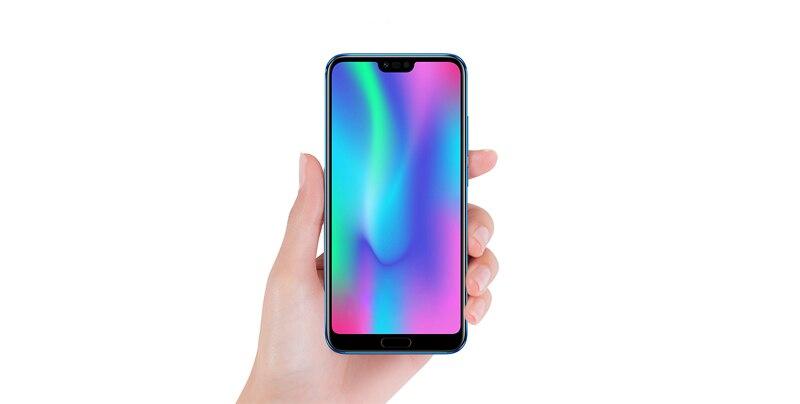 Huawei оригинальную прошивку Honor 10 Android 8,1 4G LTE смартфон 3D изогнутые Стекло Kirin 970 AI Processor 5,8 дюймов 2280x1080 24MP
