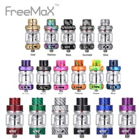 Original Freemax Mesh Pro Tank 25mm Diameter with 5ml/6ml Capacity & Mesh Pro Coil 18mm Wide Bore 810 Drip Tip Vs DEJAVU RDTA