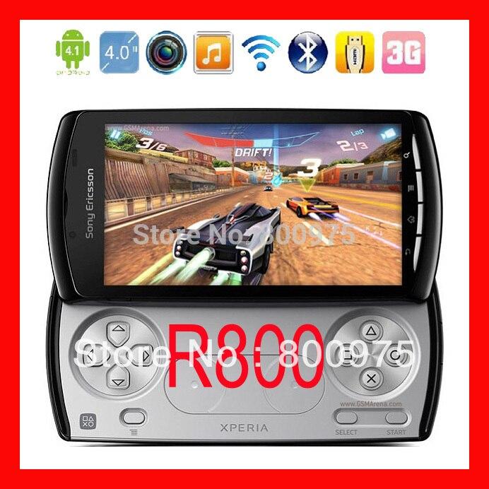 bilder für Original sony ericsson xperia play z1i r800i r800 handy entsperrt spiel smartphone 3g 5mp wifii a-gps android os