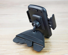 Portable Rotary Car CD Slot Dash GPS Tablet Mobile Phone Mount Stand Holders For LG Optimus