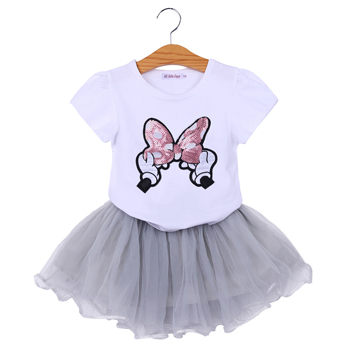 Minnie Mickey Mouse Toddler Girls 3 4 5 3T 4T 5T Dress Outfit Sweatshirt Skirt S