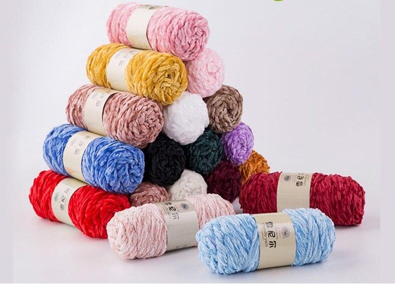100G Ball Chunky thread Stricken Milch Baumwolle Garne gewebt Hand Crochet weich