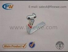 Manufacturer China supply spring clips fasteners, metal tube buttom lock spring/push button locking pin #32