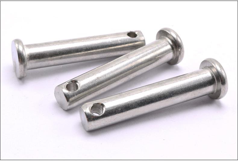 GB882 304 stainless steel Dowel pin flat headed cylindrical pin M3 M4 M5 Pin dowel with hole