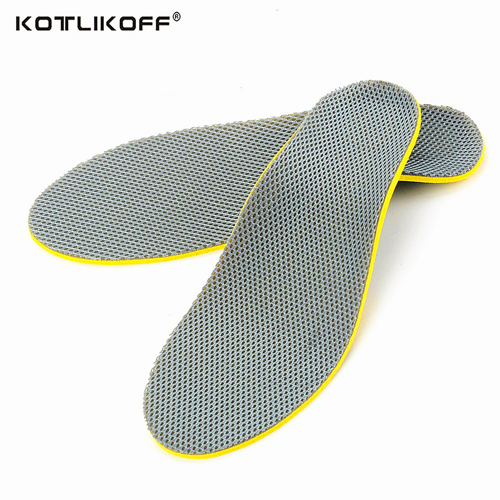 Orthotic Insole For Shoes Arch Support Cushion Feet Care Insert Sweat-Absorbant Orthopedic Insole Flat Foot Health Sole Pad kid adult flat feet orthotic arch support shoe insole gel cushion pads