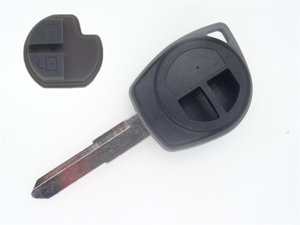 AUTEWODE 2 Button Auto Key Cover Shell for Suzuki Swift SX4 Liana Aerio Vitara car key case fob все цены