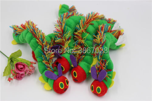 The Very Hungry Caterpillar Eric Carle Stuffed Plush Doll Gift 10cm 1pc