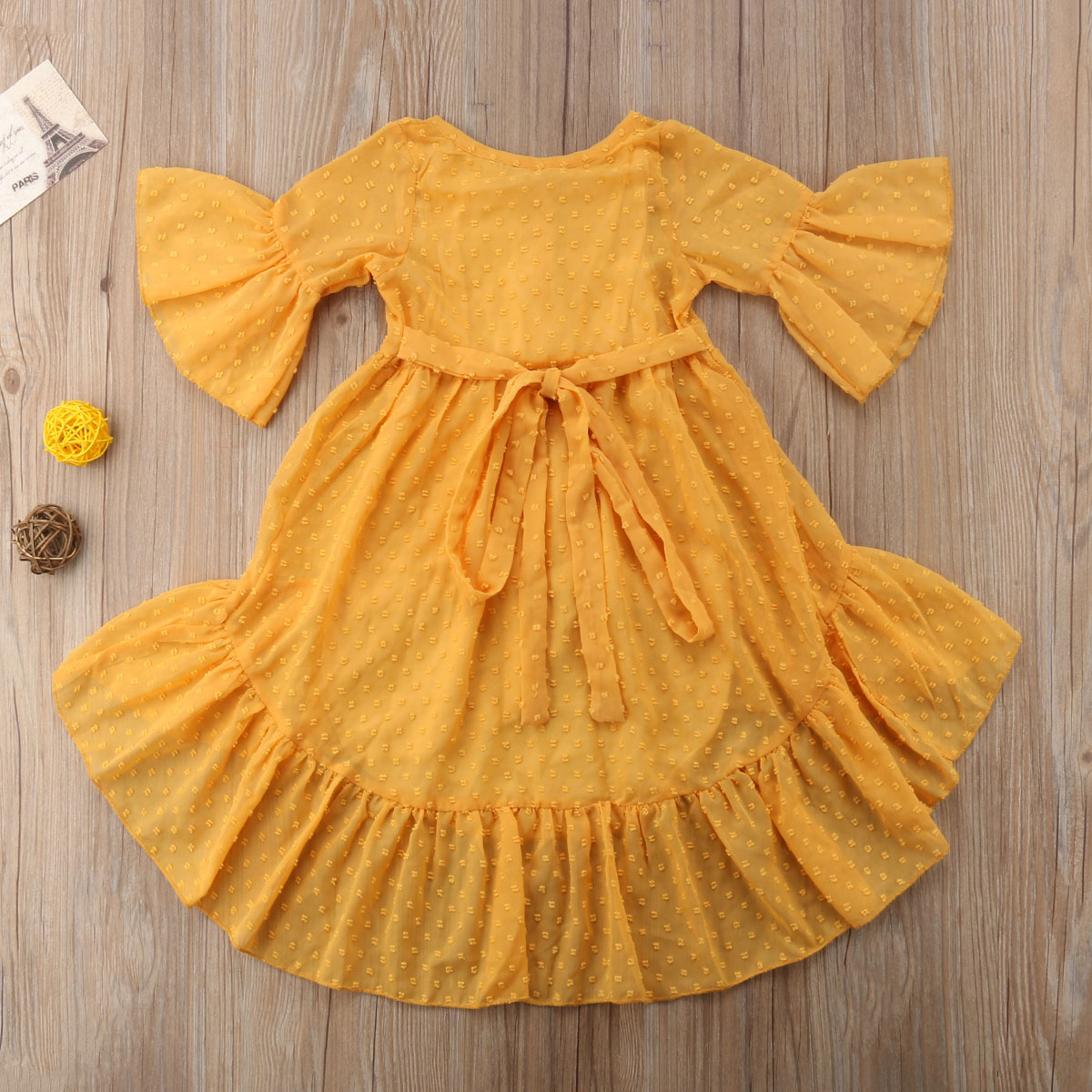 2018 Brand New Princess Fashion Toddler Baby Girls Boho Party Dress