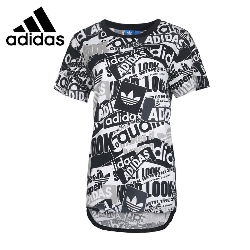 Original New Arrival 2017 Adidas Originals Women's T-shirts short sleeve Sportswear original new arrival 2017 adidas originals s s camo color men s t shirts short sleeve sportswear