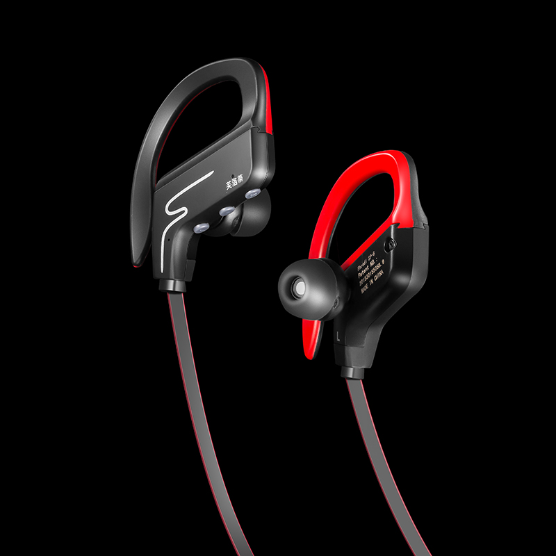 New SP6 wireless stereo sport Bluetooth Earphone waterproof noise reduction subwoofer HIFI sports Bluetooth Headset Headphones