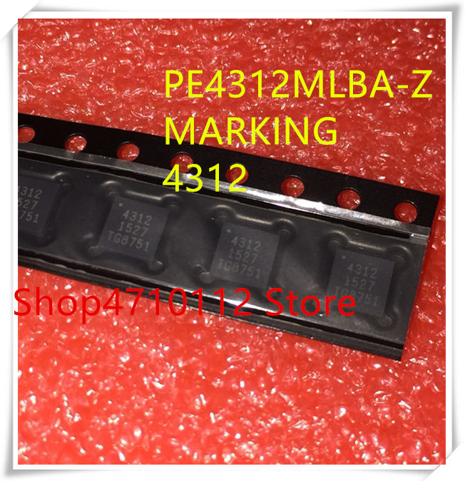 NEW 10PCS/LOT PE4312MLBA-Z PE4312MLBA PE4312 MARKING  4312 QFN IC