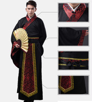 2019 summer men Chinese Cotton buddhist monk robes dance costumes hanfu costume han dynasty man clothes ancient clothing